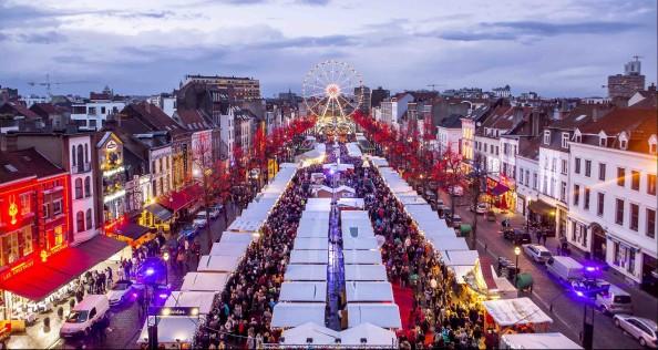 Mercadillo de navidad Bruselas
