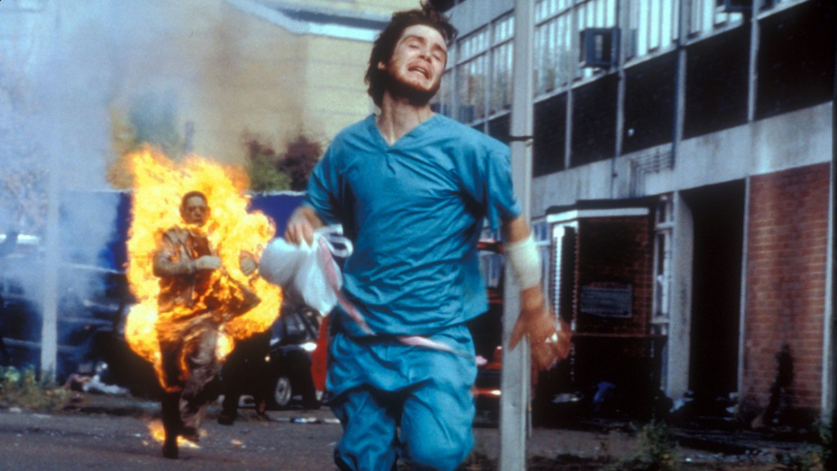 28 Days Later (2003) Directed by Danny Boyle Shown: Cillian Murphy