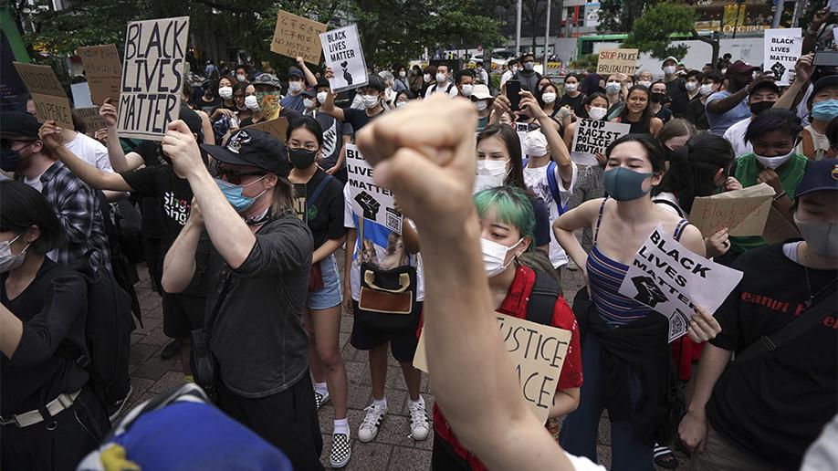 APTOPIX America Protests Global Japan
